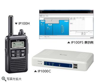 IP100H アイコム(ICOM)